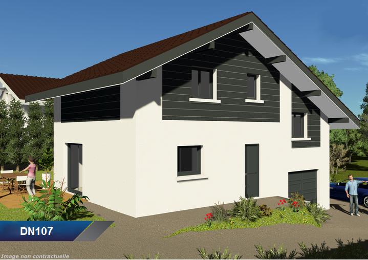 Maisons demi niveau exemples de projets maison pro alpes for Projets de maisons